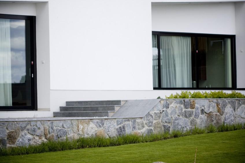 Trädgårdsdesign, Villa Farsta