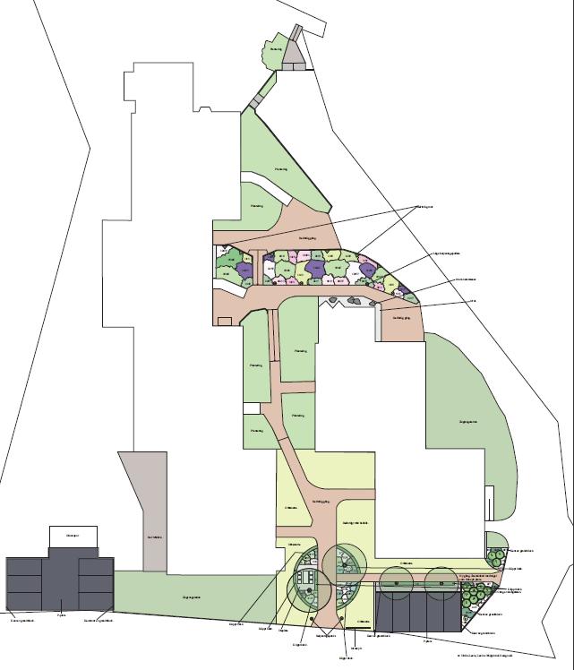 Trädgårdsdesign Neglinge center, Saltsjöbaden